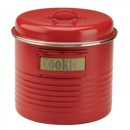 Typhoon Vintage Storage Tin (Red) - Red Candy