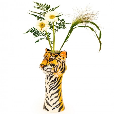Tyra the Tiger Vase - Red Candy