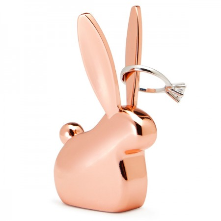Umbra Anigram Bunny Ring Holder (Copper) - Red Candy