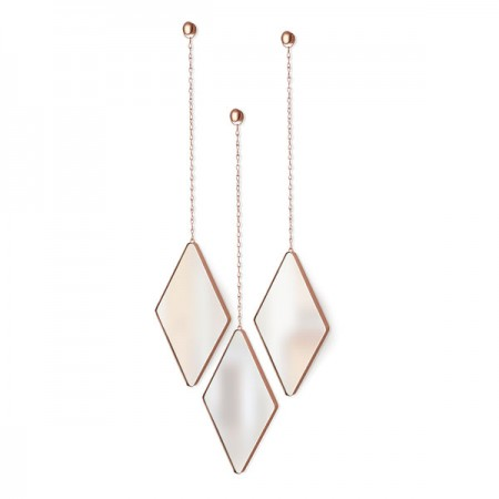 Umbra Dima Mirror Set (Copper) - Red Candy