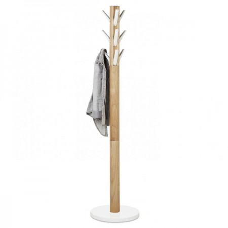 Umbra Flapper Coat Rack (White & Natural) - Red Candy