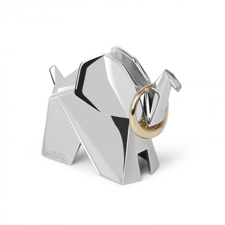 Umbra Origami Ring Holder (Elephant) - Red Candy