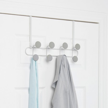 Umbra Yook Wall Hook (White & Grey) - Red Candy