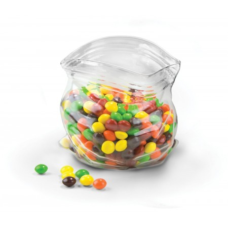 Unzipped Glass Bowl - Red Candy