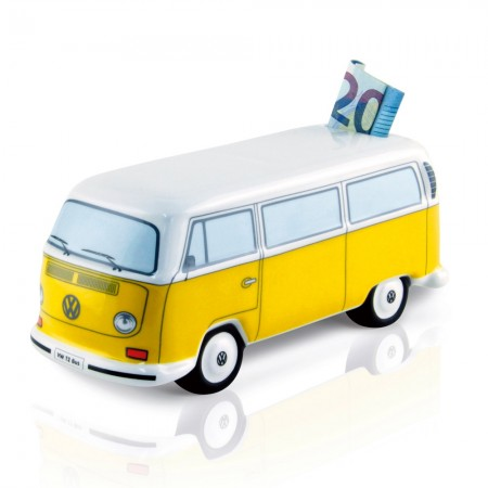 VW Campervan Moneybank (Yellow) - Red Candy