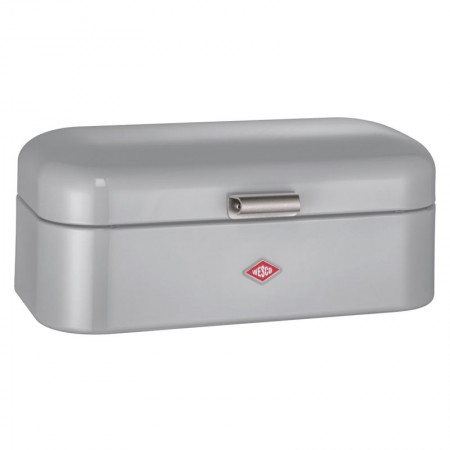 Wesco Grandy Bread Bin (Cool Grey) - Red Candy