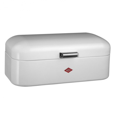 Wesco Grandy Bread Bin (White) - Red Candy