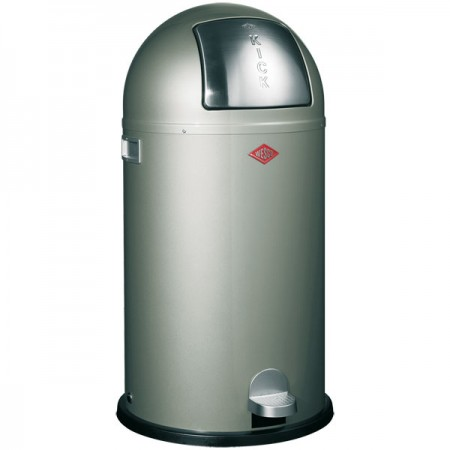 Wesco Kickboy Bin (New Silver) - Red Candy