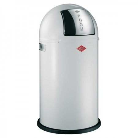 Wesco Pushboy Bin (White) - Red Candy