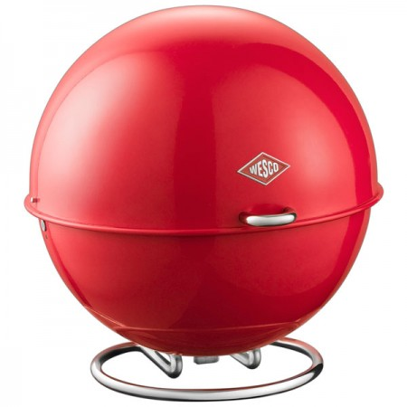 Wesco Superball Bread Bin (Red) - Red Candy