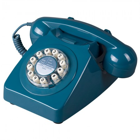 Wild & Wolf 746 Phone (Biscay Blue) - Red Candy