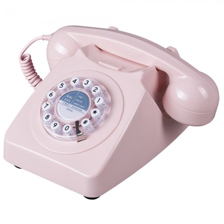 Wild & Wolf 746 Phone (Dusky Pink) - Red Candy