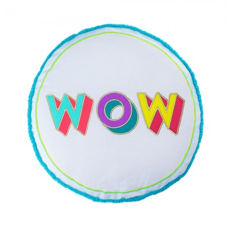 WOW Round Cushion - Red Candy