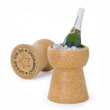 Giant Champagne Cork Cooler - Red Candy