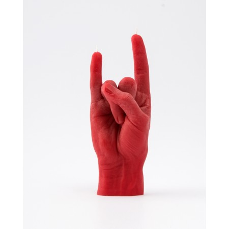 Rock! Candle Hand (Red) - Red Candy