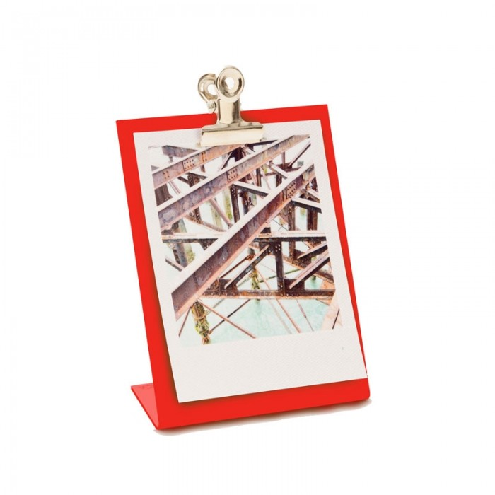 Block Clipboard Frame - Red