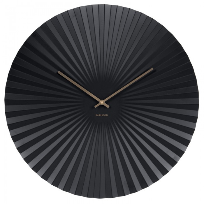 Karlsson Sensu Clock Large - Black
