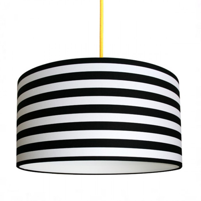 Patterned Lampshade - Circus Stripe
