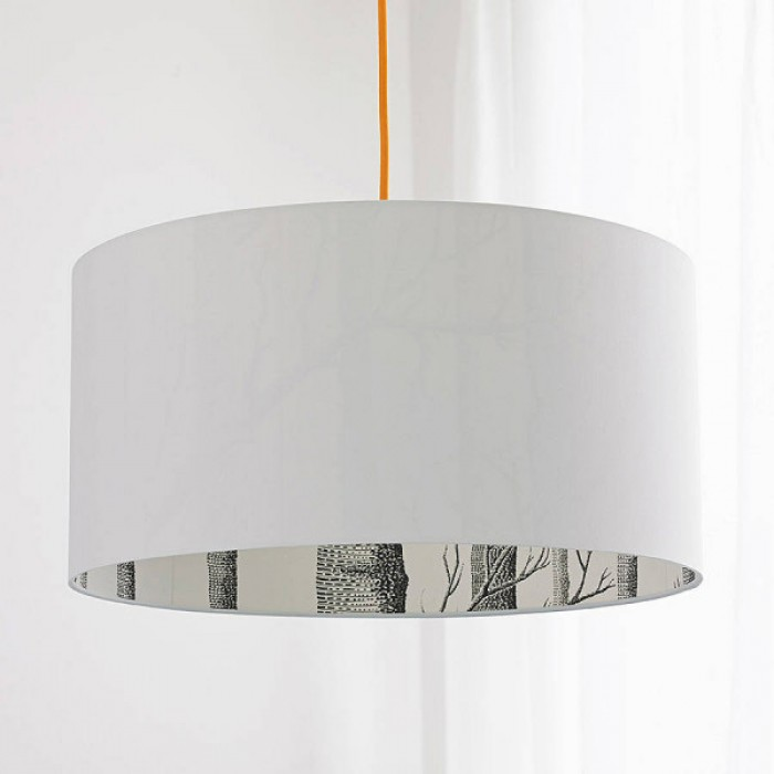 Silhouette Cotton Lampshade - Cole & Son The Woods