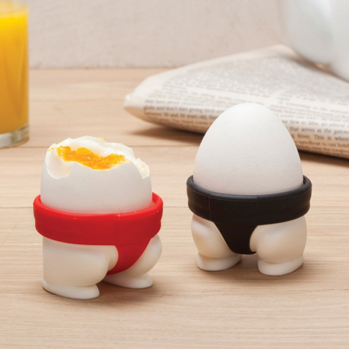 Sumo Egg Cups Set Of 2 Red Candy