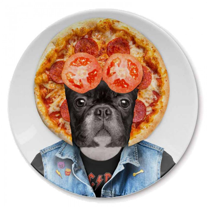 Wild Dining Plate - Dog
