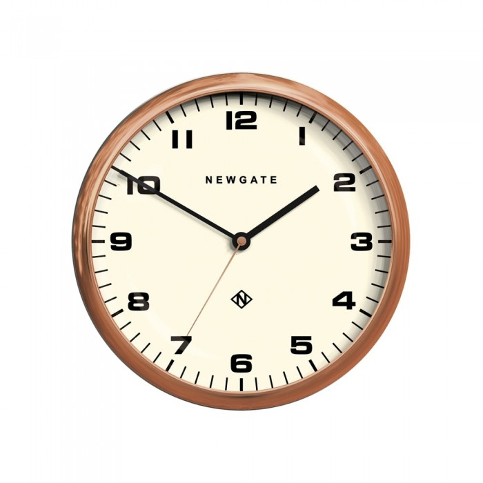 Newgate Chrysler Wall Clock - Radial Copper