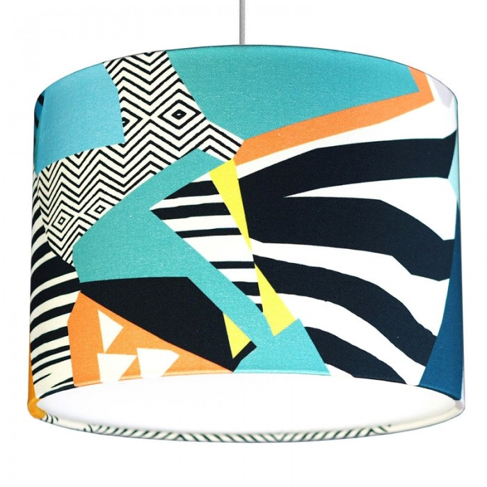 Kitty McCall Canary Drum Lampshade