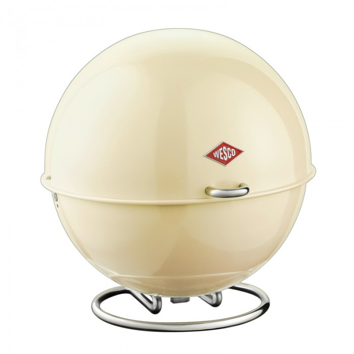 Wesco Superball Bread Bin - Almond
