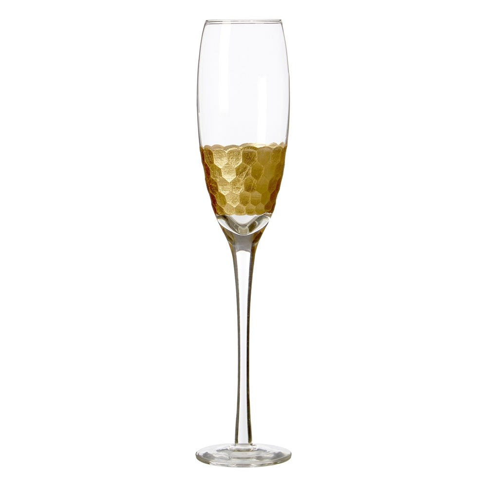 7d87ff621f6 Honeycomb Champagne Glasses (Set of 4) - Red Candy