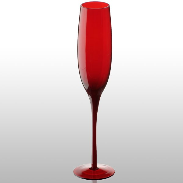 Midnight flute by artland red champagne glasses buy online for Buy champagne glasses online
