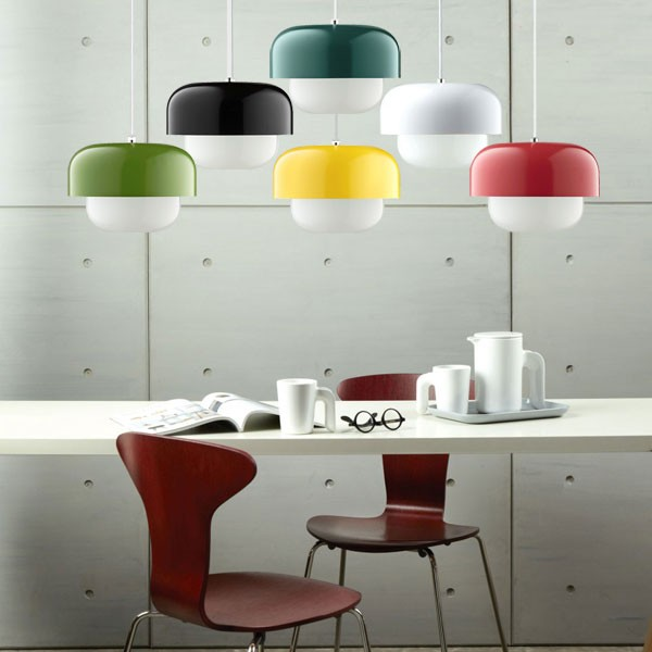 Haipot pendant light yuzu yellow red candy aloadofball Image collections