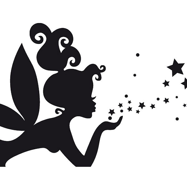 Magic Fairy Wall Sticker Large Children S Wall Decal
