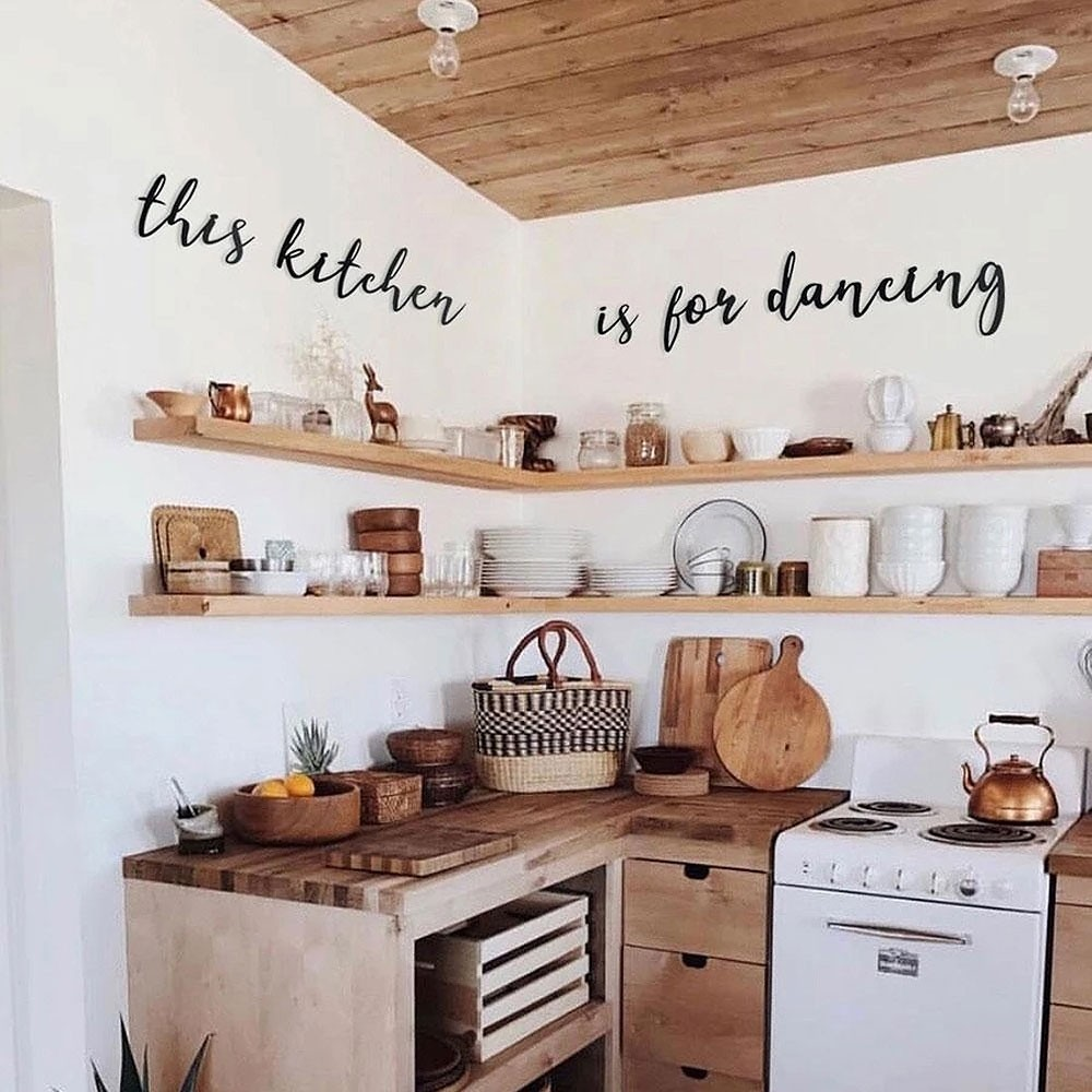 Fine This Kitchen Is For Dancing Metal Wall Art Interior Design Ideas Gentotryabchikinfo