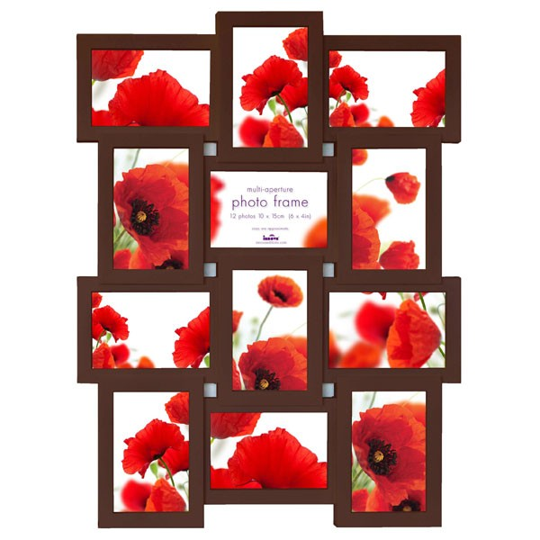 Brown Multi Picture Frame Image collections - origami instructions ...