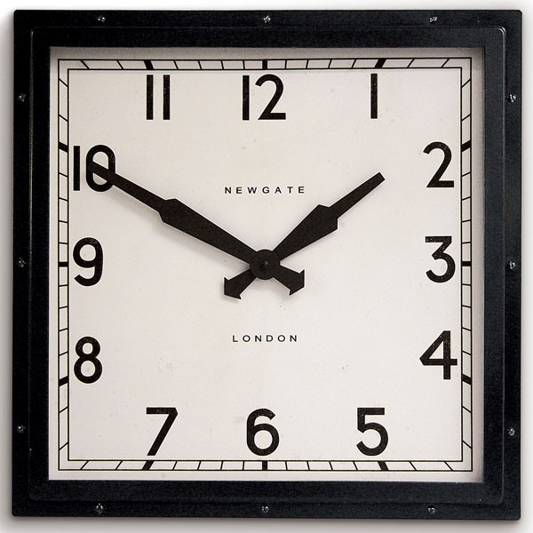 Thomas Kent Camden Clock Cream - 12 inch beige clock