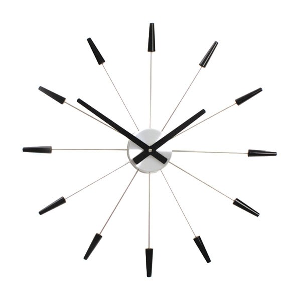 Half Time Cuckoo Clock by Christie Antoine Bassil - modern red cuckoo clock