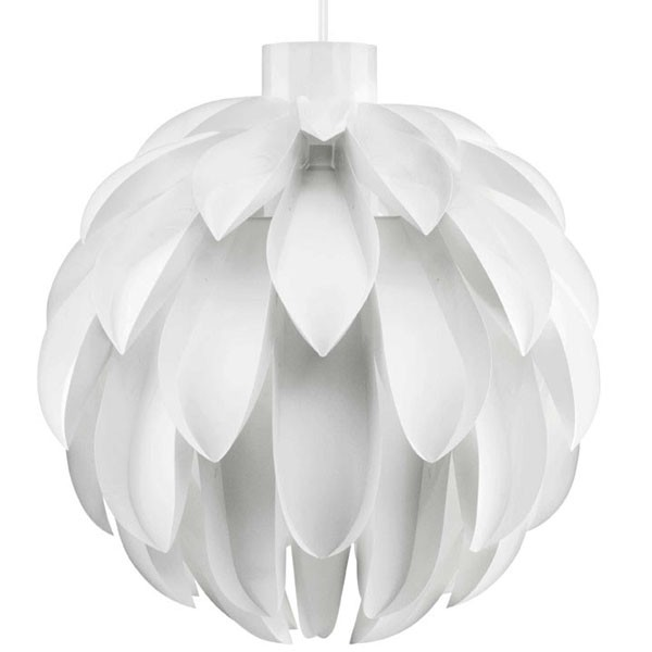 Norm 12 lamp shade large white designer pendant lights mozeypictures Image collections