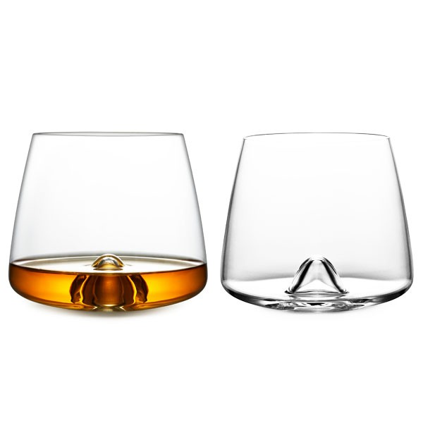 Normann Copenhagen Liqueur Glasses - Set of 2 rocking glasses