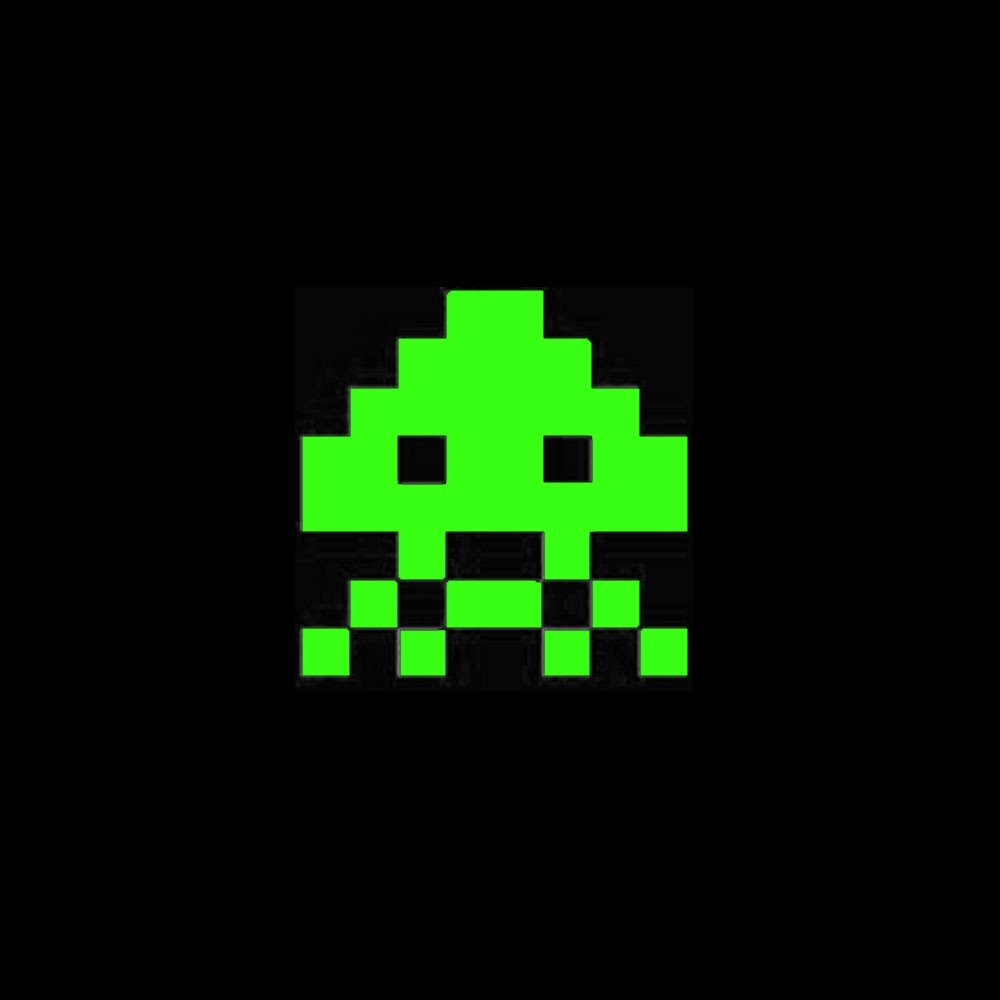 Space Invaders Shot Glasses Glow in the Dark A great retro gamer gift!