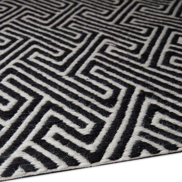 Maisey Rug Black Red Candy