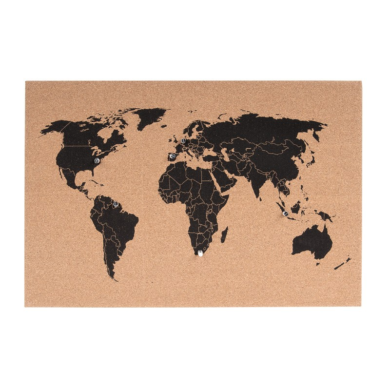 Corkboard world map red candy gumiabroncs Choice Image
