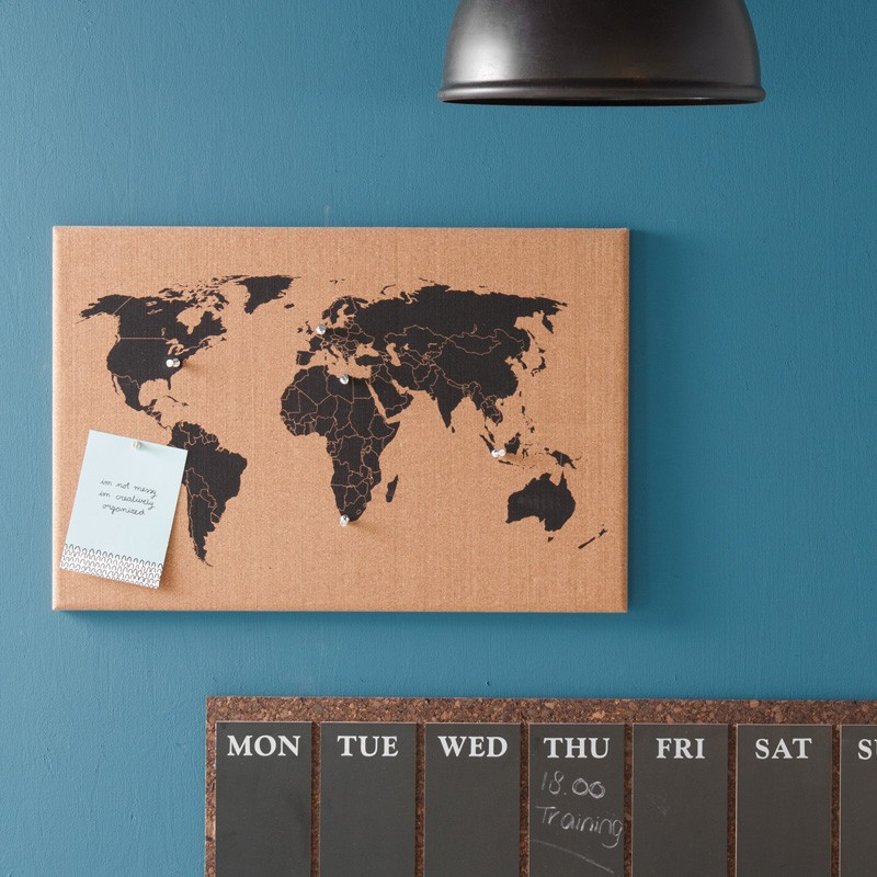 Corkboard world map red candy gumiabroncs Image collections