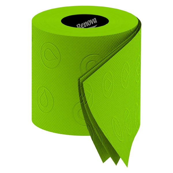Renova Green Toilet Roll