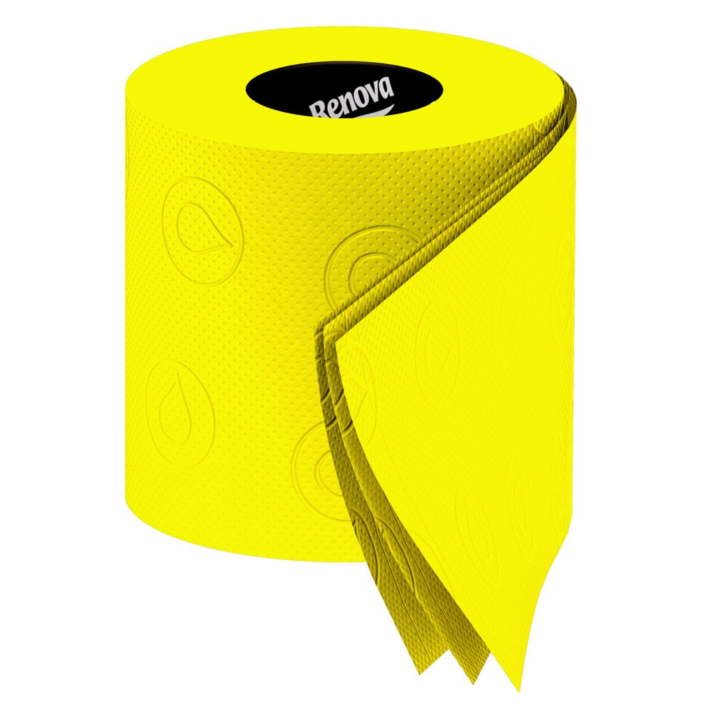 Renova Toilet Tissue - red toilet paper - buy online from Red Candy