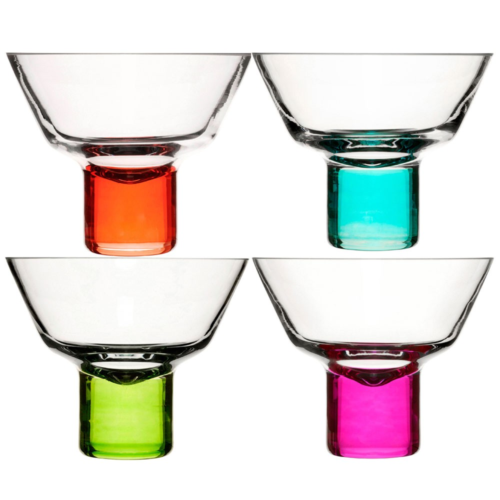 Midnight Black Martini Glass - Artland black cocktail glasses