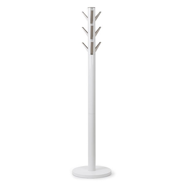 Umbra Flapper Coat Rack White Red Candy