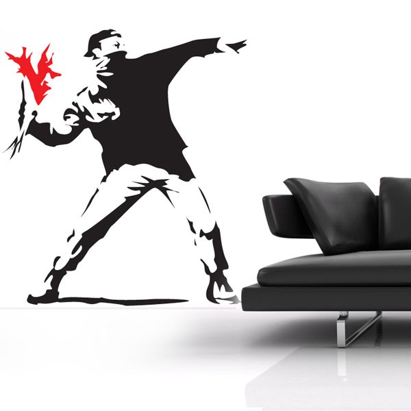 Banksy Acid Soldier Wall Sticker - Banksy Wall Decor