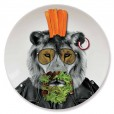 Wild Dining Plate - Lion