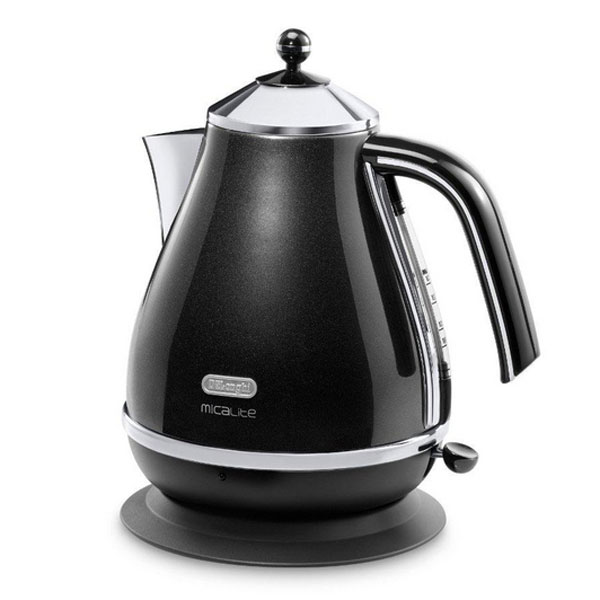 DeLonghi Icona Micalite Kettle  Pearlescent Black