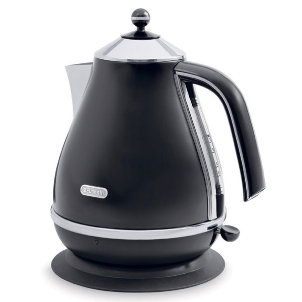 DeLonghi Icona Vintage Kettle  Matt Black